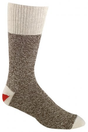 Small Size Socks - Brown Socks Original Rockford Red Heel® for Sock Monkey
