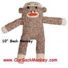 "10"" Sock Monkey"
