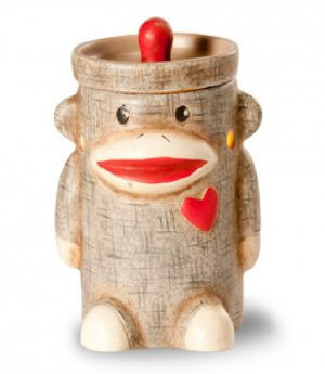 Sock Monkey Mini Warmer for Fragance Cubes