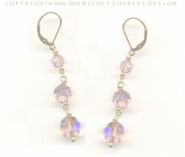 B E L L I S S I M A Earrings No.2 - - Swarovski Austrian Crystal Earrings