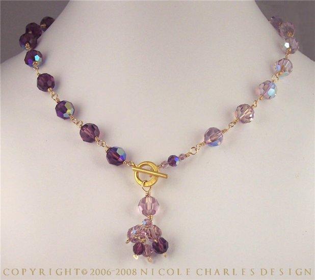 B E L L I S S I M A - - Swarovski Austrian Crystal Necklace