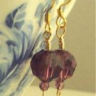 B E L L I S S I M A  Earrings- - Classically Elegant Amethyst Swarovski Austrian Crystal Earrings