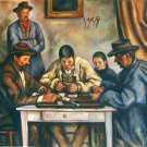 Paul Cezanne Card Players (Barnes) hand painted oil painting on canvas