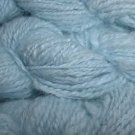 light blue 100 percent angora yarn