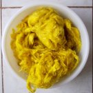 yellow mohair hand spinning felting fiber