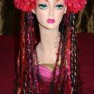 tribal belly dance yarn hair falls