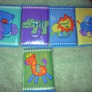 Light switch covers with Safey plugs m/w tiddliwinks safari