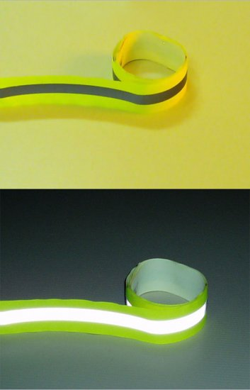 "Reflective 2"" LimeYellow Vest Trim 2"" x 30ft"