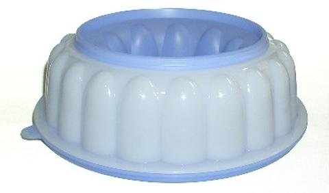 Tupperware Jello Jel-Ring Mold - Blueberry - Jell-O