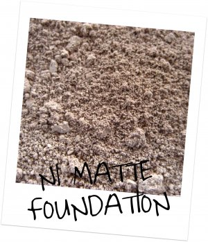 Mineral Makup ~ Matte Cover Foundation N1 ~ Sample