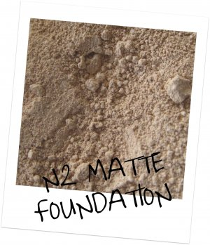 Mineral Makup ~ Matte Cover Foundation N2 20 Gram