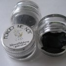 Mineral Makeup Eye Shadow Black Shimmer 5 Gram Jar