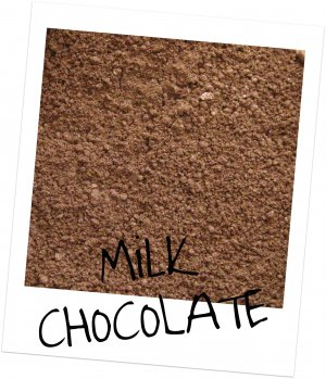 Mineral Makeup Eye Shadow Sample Milk Chocolate