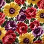 Kings Road Quilting Cotton Floral