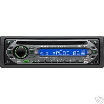 SONY X-PLOD 45x4 Cd, Mp3, Wma, Am, Fm Car Stereo New