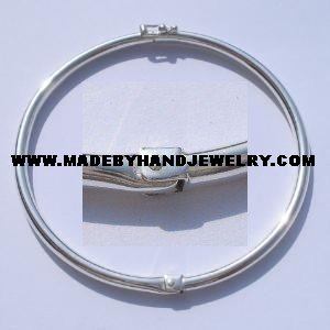 .950 Circular Silver Bracelet *EMAIL SIZE FOR AVAILABILITY AND PRICE*