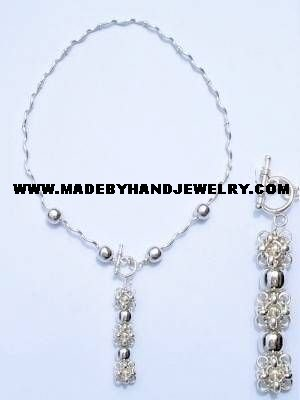 .950 Silver Necklace *EMAIL SIZE FOR AVAILABILITY AND PRICE*