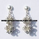 .950 Pure Silver Earrings (No. 5)