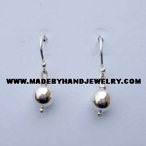 .950 Pure Silver Earrings (No. 8)