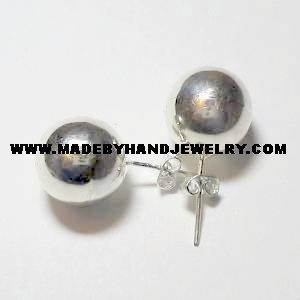 .950 Pure Silver Earrings (No. 13)