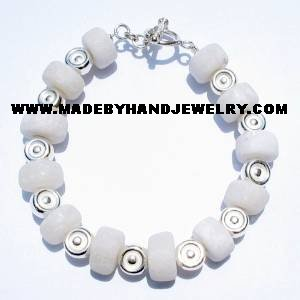 .950 Silver Bracelet with Huamanga Stone *EMAIL SIZE FOR AVAILABILITY AND PRICE*