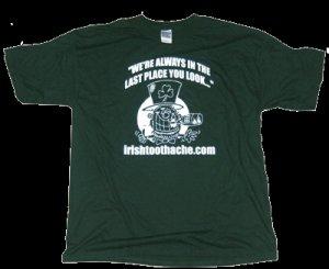 Forest Green Irishtoothache T-shirt