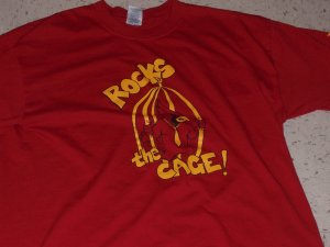"Cardinal ""Rocks the Cage"" Tee"