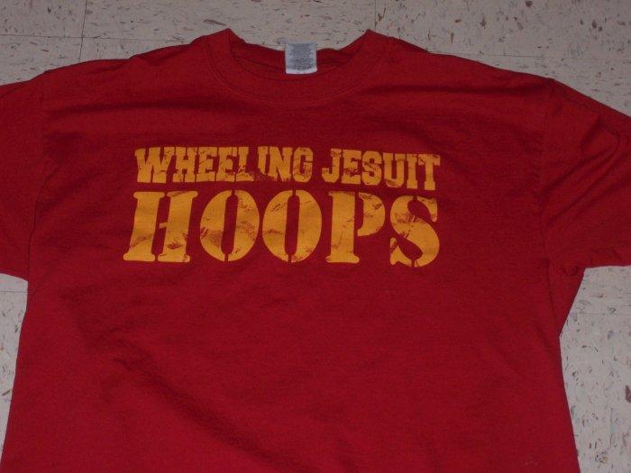 """Wheeling Jesuit """"Hoops"""" Tee"""