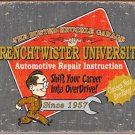 "BKG - Wrenchtwister University 16""Wx12.5""H TIN SIGN ""FREE SHIPPING"""