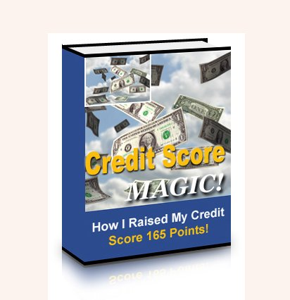 Credit Score Magic How I Raised My Credit Score 165 Points PDF eBook
