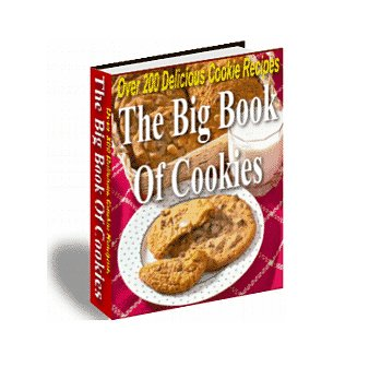The Big Book Of Cookies eBook Over 200 Recipes PDF Format