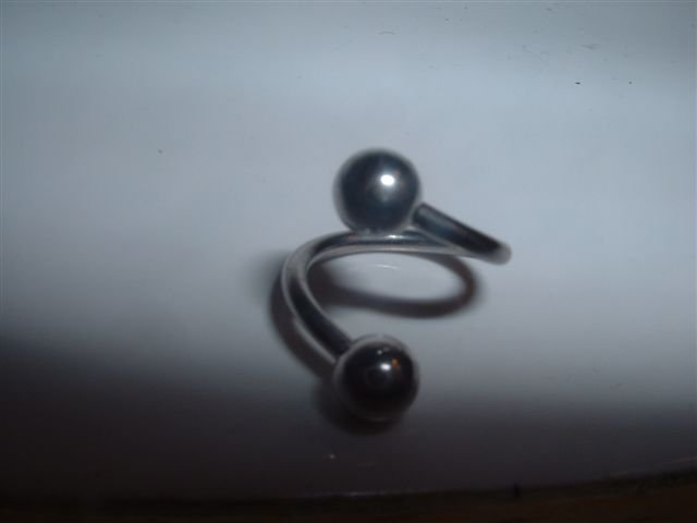 Sexy Spiral Belly Ring 14G Brand New *FREE SHIPPING*
