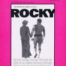 Gonna Fly Now 1976 Sheet Music from Rocky Film with Sylvester Stallone