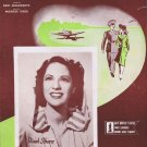 He Wears a Pair of Silver Wings 1942 Sheet Music with Dinah Shore