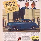 1941 Oldsmobile Automobile Original Vintage Advertisement for 852 Dollars