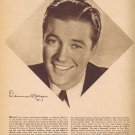 Dennis Morgan 1942 Sepia Movie Picture with Autograph Copy