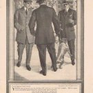 Hart, Schaffner & Marx Men's Clothing 1910 Original Vintage Ad on the campus of Yale University