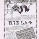Riz La Croix Famous Cigarette Papers 1914 Original Vintage Advertisement