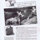 1936 Kodak Eight Camera Original Vintage Advertisement with Grandfather and Grandchildren