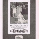 1920 Hartman Traveler Wardrobe Trunks Original Vintage Advertisement