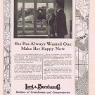 Glass Gardens 1920 Lord and Burnham Co Greenhouse Builders Vintage Ad