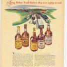 1943 Long Before Pearl Harbor WW2 Old Whiskeys Vintage Advertisement