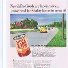 1941 Shell X-100 Motor Oil Original Vintage Advertisement Roads of Tomorrow