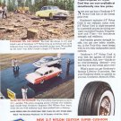 1957 Goodyear Tires Original Vintage Advertisement with New 3-T Nylon Cord Tires