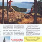1957 Vacation in Canada by Canadian Travel Bureau Original Vintage Advertisement