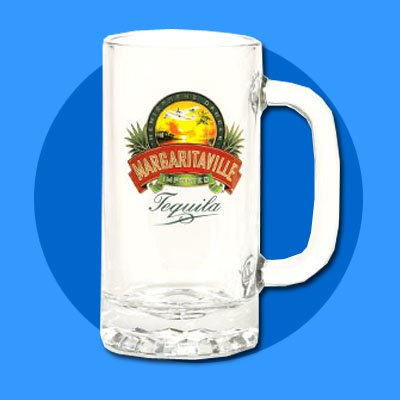 Margaritaville Beer Mug