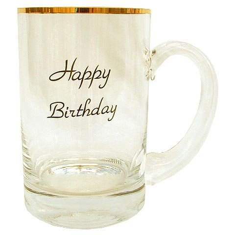 Happy Birthday Beer Mug