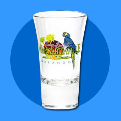 Margaritaville Shot Glass