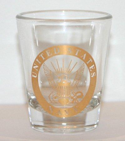 Navy Shot Glass