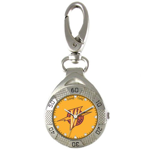 GAME TIME GOLDEN ST. WARRIORS CLIP ON WATCH GRANDSTAND SERIES FREE SHIPPING LIFETIME WARRANTY